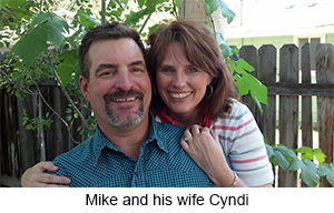 Mike and his wife Cyndi